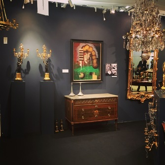 Antique fair Stockholm 2016 - Image 1