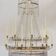 A Large Swedish Gilt-Metal and Cut-Glass Chandelier, circa 1800 - Image 2