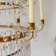 A Large Swedish Gilt-Metal and Cut-Glass Chandelier, circa 1800 - Image 3