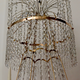 A Large Swedish Gilt-Metal and Cut-Glass Chandelier, circa 1800 - Image 6