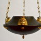 An Unusual Patinated and Gilt-Bronze Swedish Empire Chandelier In The Egyptian Style.  Ca. 1810-20 - Image 3