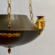 An Unusual Patinated and Gilt-Bronze Swedish Empire Chandelier In The Egyptian Style.  Ca. 1810-20 - Image 5