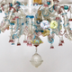 A Venetian Polychrome Murano Glass 8-Light Chandelier, 19th Century. - Image 6