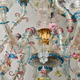 A Venetian Polychrome Murano Glass 8-Light Chandelier, 19th Century. - Image 5