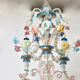 A Venetian Polychrome Murano Glass 8-Light Chandelier, 19th Century. - Image 4