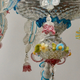 A Venetian Polychrome Murano Glass 8-Light Chandelier, 19th Century. - Image 3