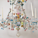 A Venetian Polychrome Murano Glass 8-Light Chandelier, 19th Century. - Image 2