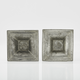 Pair of Swedish Gustavian Pewter Candlesticks by Wilhelm Helleday, 1799. - Image 5