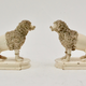 Pair of Ceramics Poodles, Probably England, 19th Century - Image 2