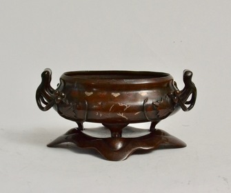 A Chinese Bronze Censer - Image 1