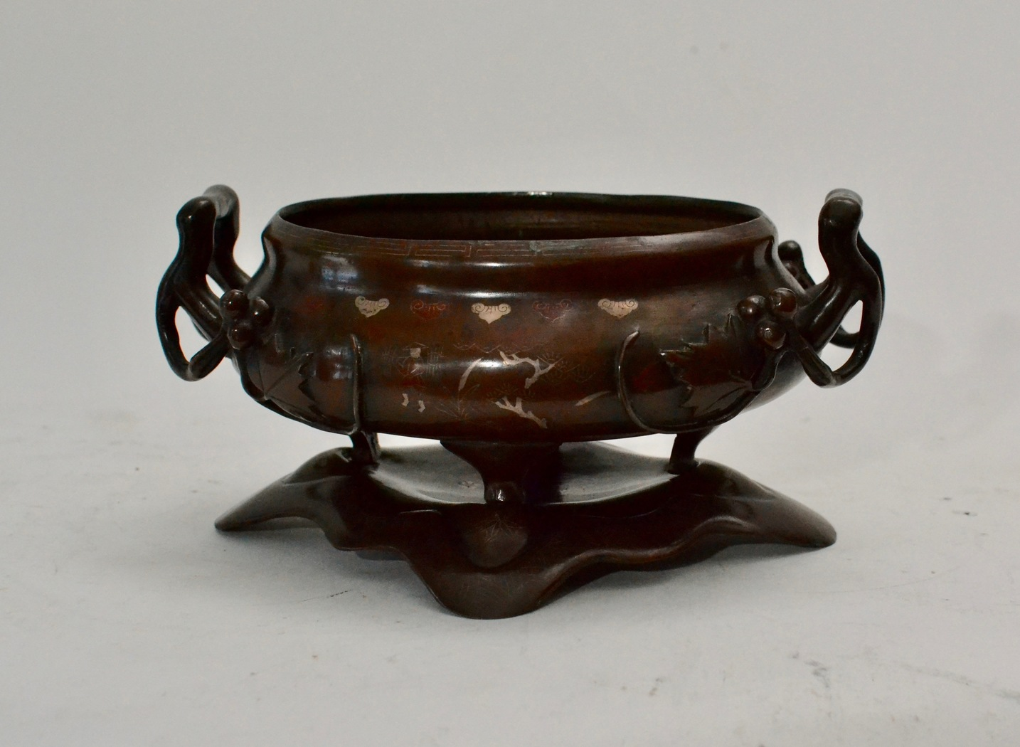A Chinese Bronze Censer - Image privacy