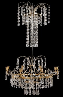 A Swedish Neoclassical Chandelier, Ca. 1790. - Image 1