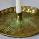Swedish 18th Century Brass Candlestick.  - Image 4