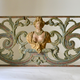 A Baroque Painted and Woodcarved Overdoor Piece.18th Century - Image 1