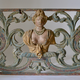 A Baroque Painted and Woodcarved Overdoor Piece.18th Century - Image 2