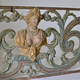 A Baroque Painted and Woodcarved Overdoor Piece.18th Century - Image 4