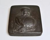 A Japanese Iron Writing Box