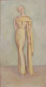 A Full-Length Portrait of Tatiana Angelini-Jolin By Einar Jolin