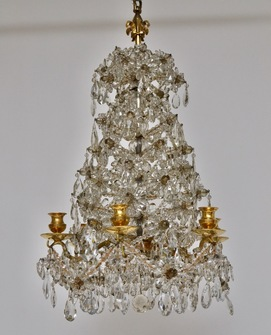 French chandelier made around 1820-40 - Image 1