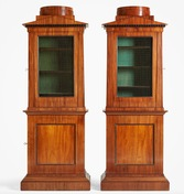 Pair of Swedish cabinets, ca 1810