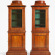 Pair of Swedish cabinets, ca 1810 - Image 1
