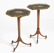 Pair of Swedish folding tables, around year 1800