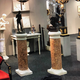 Pair of marble columns, 19th c - Image 3