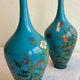 Pair of Japanese cloisonné vases - Image 10
