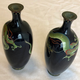 Pair of small Japanese cloisonné vases - Image 11