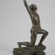 Orfeus. Bronze sculpture by David Wretling (1901-1986) - Image 3