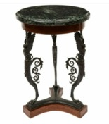 Grand Tour table gueridon. Occasional table