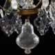Rococo chandelier made around 1760 - Image 4