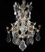 Rococo chandelier made around 1760