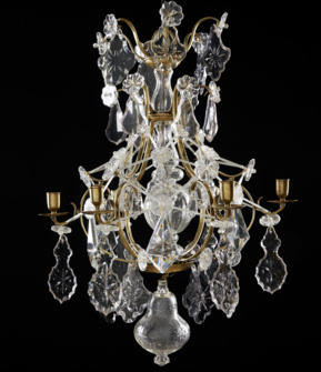 Rococo chandelier made around 1760 - Image 1