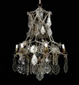 Rococo chandelier, Stockholm 1760