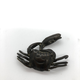 Japanese bronce sculpture. Crab catching a fish. Late 19th c - Image 2