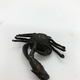 Japanese bronce sculpture. Crab catching a fish. Late 19th c - Image 3