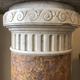 Pair of marble columns, 19th c - Image 5