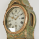 An important Swedish rococo long case clock - Image 2