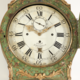 An important Swedish rococo long case clock - Image 3