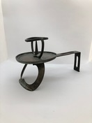 Japanese iron candleholder, 18th/19th c