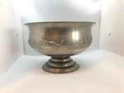 A pewter bowl made 1928. Svenskt Tenn. Swedish Grace