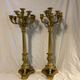 A Pair of very large French candelabra made ca 1840 - Image 2