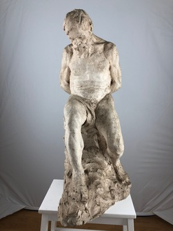 Sculpture of plaster. Jonas Åkesson (1879-1970) - Image 1