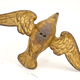Chandelier gilt led weights in the shape of birds, 18th/19th century   - Image 1