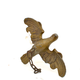 Chandelier gilt led weights in the shape of birds, 18th/19th century   - Image 3