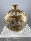 Japanese Satsuma vase, 19th c
