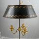 Bouillotte lamp, late 18th c - Image 1