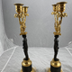 Pair of late 18th c candelabra - Image 6