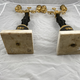 Pair of late 18th c candelabra - Image 9
